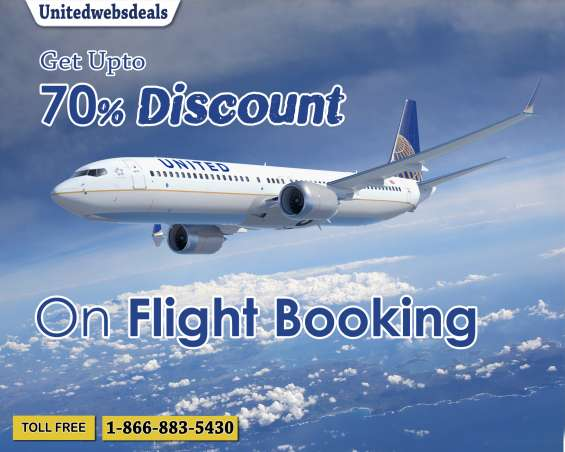 Get upto 70% discount on every flights ticket booking with unitedwebsdeals