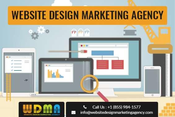 Website design marketing agency company