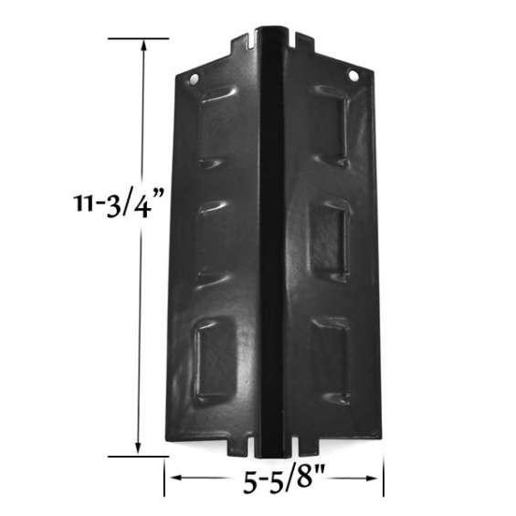 Find porcelain steel heat shield for uberhaus gas grill models