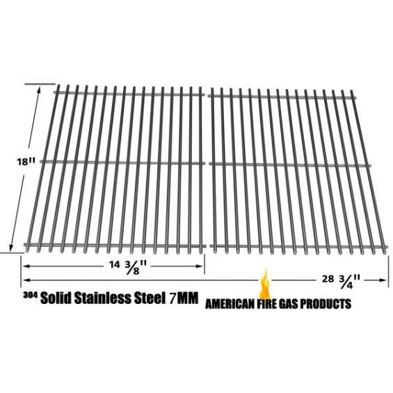 Shop stainless steel cooking grid for grill chef, uniflame gas grill models