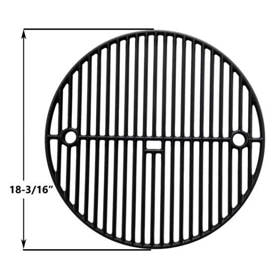Find cast iron two level cooking grate for vision, big green egg models