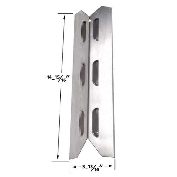 Find stainless steel heat shield for hamilton beach gas grill models