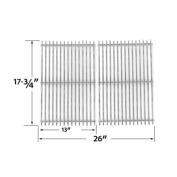 Find stainless cooking grid for dyna-glo, broilchef gas grill models