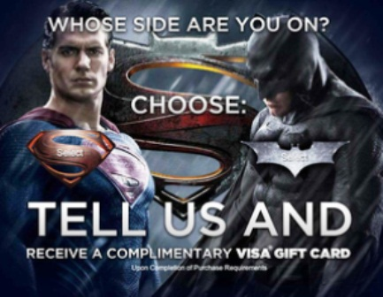 Batman vs superman! who is your favorite