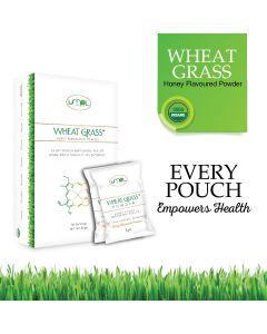 Umpl organic wheat grass powder