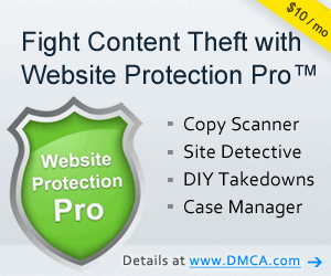 Website protection tools