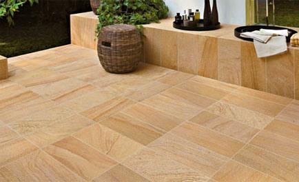 Buy durable sandstone floor tiles