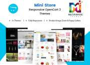 Responsive OpenCart Themes and Premium OpenCart Themes