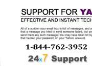 Yahoo customer support number 1-844-762-3952