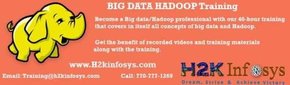 Big data hadoop online training and job assistance