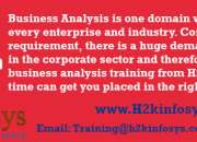 Business Analyst Online Training in USA