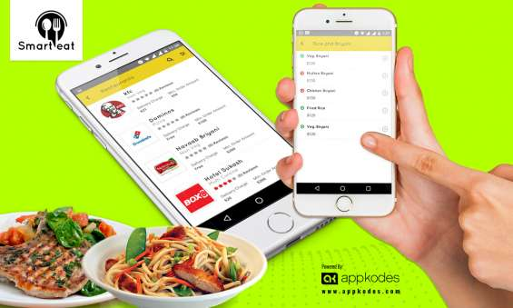 On demand restaurant menu ordering system with mobile app | appkodes