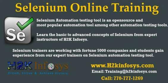Best selenium online training course