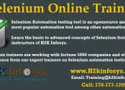 Best Selenium Online Training Course