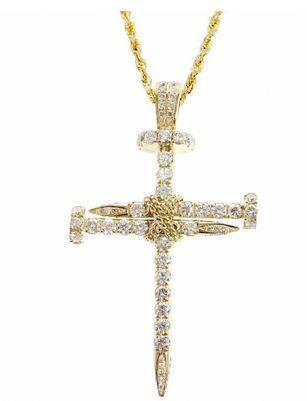 Custom cross necklace - highline custom jewelry