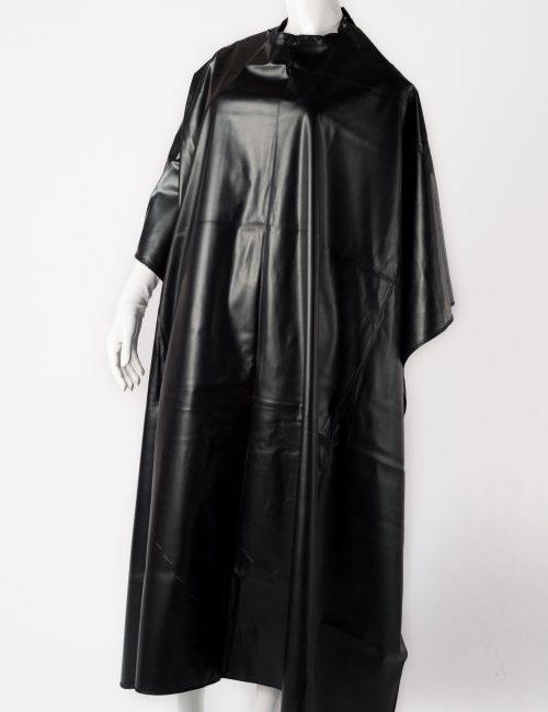 Black chemical cape.