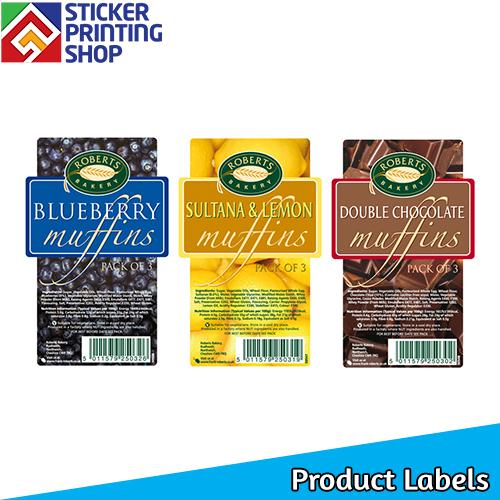 Product labels for your products