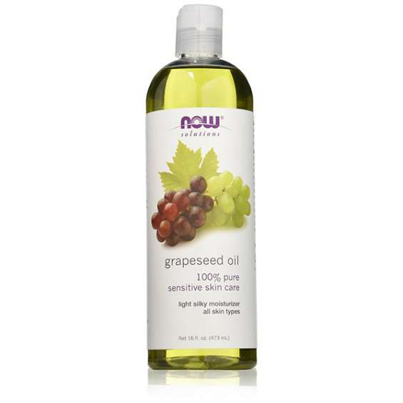 Grapeseed oil sensitive skin care