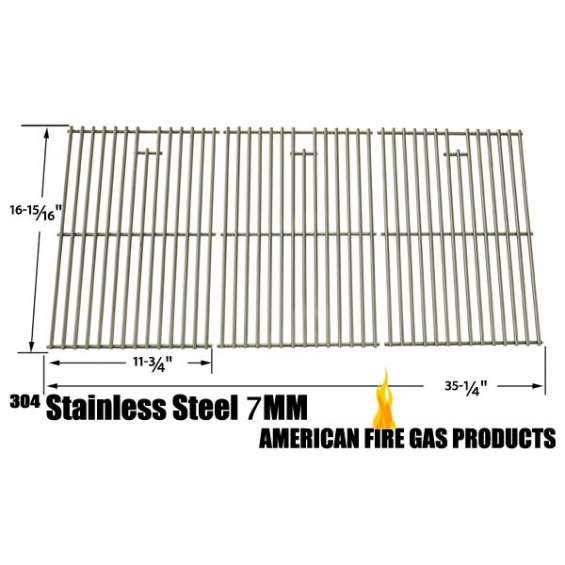 Stainless cooking grid for north american outdoors gas model