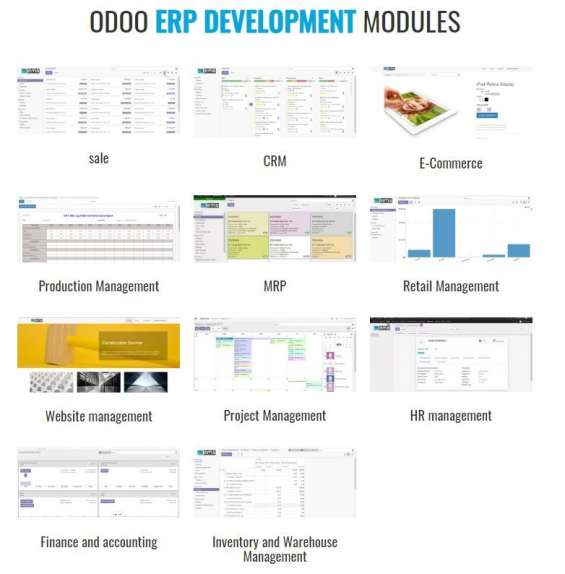 Odoo erp software development