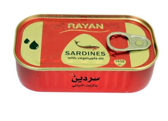 Organic morccan sardines