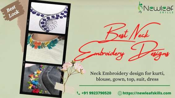 Best neck embroidery designs