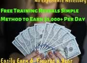 Freetraining reveals simple method to earn $1,00…